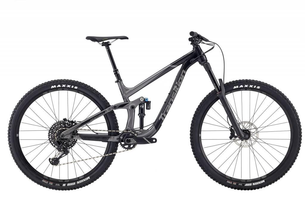 Transition Bikes Sentinel GX Complete. Blackpowder, X-Large