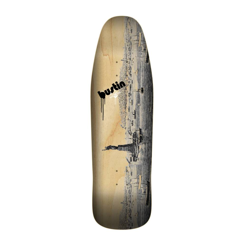 """Bustin Boards CRAFT SERIES 9.875"""" Deck - 'Old New York' Graphic"""