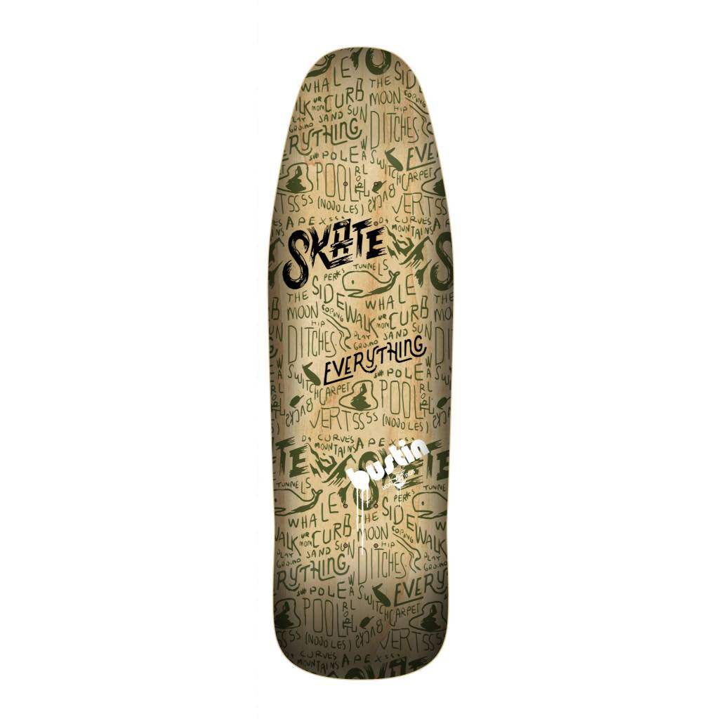 "Bustin Boards CRAFT SERIES 9.875"" Deck - 'All Forms' Graphic"
