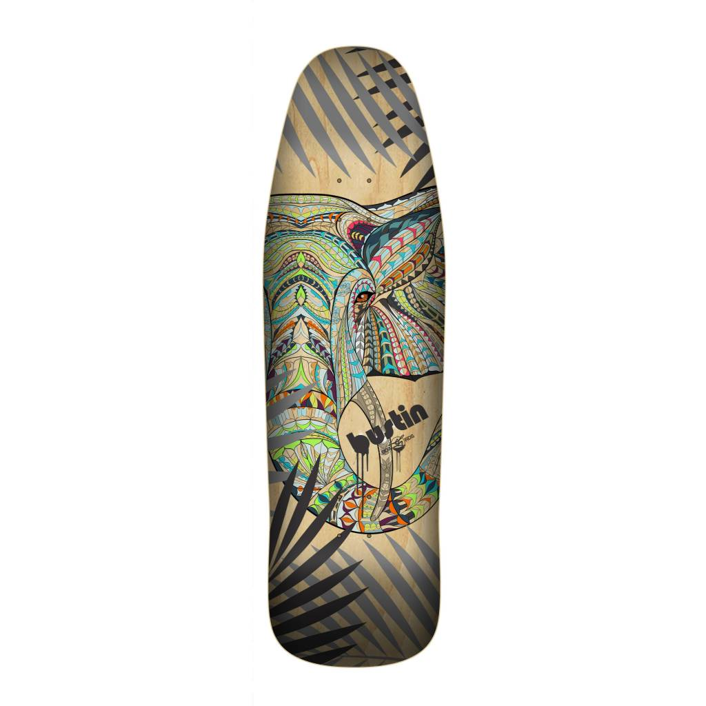 """Bustin Boards CRAFT SERIES 9.875"""" Deck - 'Zo' Graphic"""