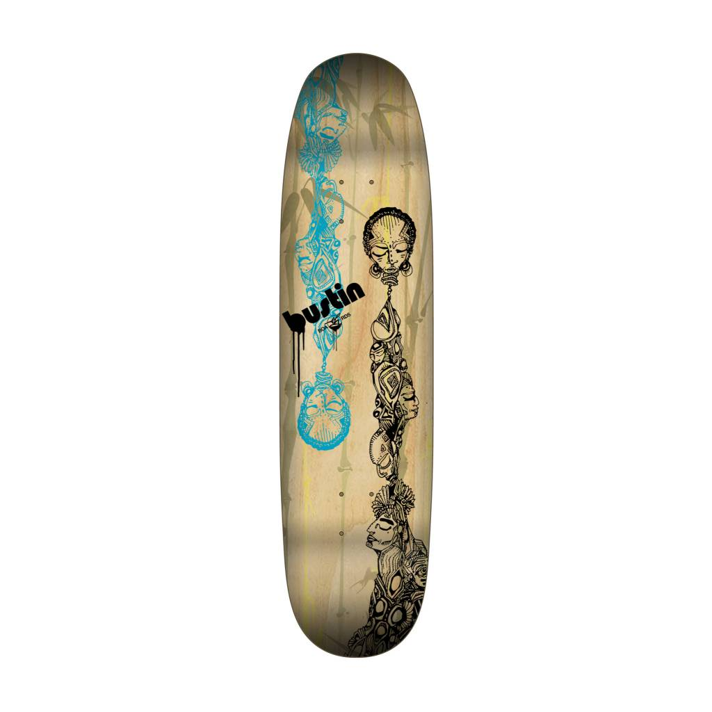 "Bustin Boards CRAFT SERIES 8.875"" Deck - 'Totemu' Graphic"
