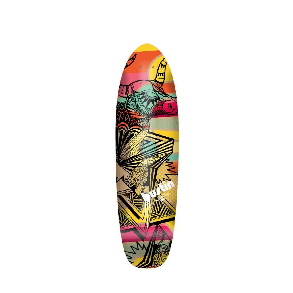 "Bustin Boards Bonsai Mini 29"" Deck - 'Dakota' Graphic"