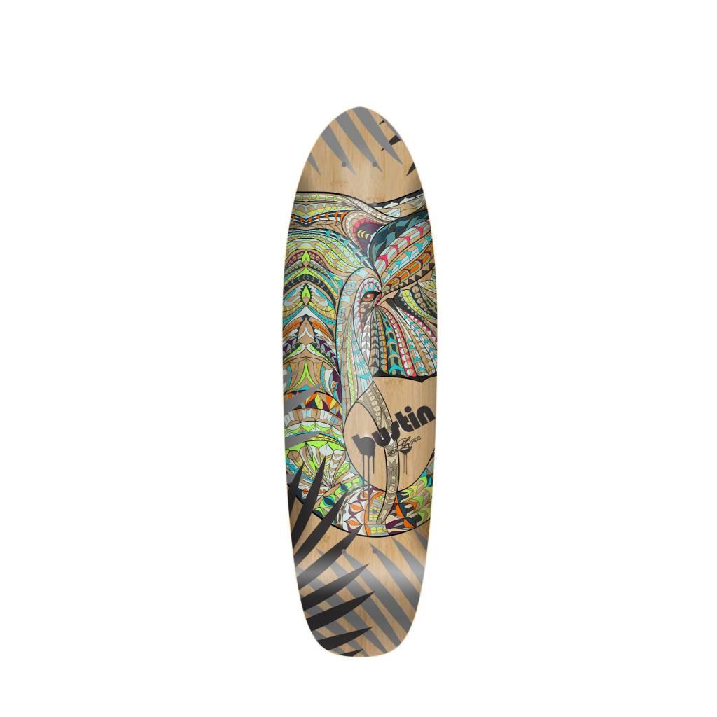 """Bustin Boards Bonsai Mini 29"""" Deck - 'Zo' Graphic"""
