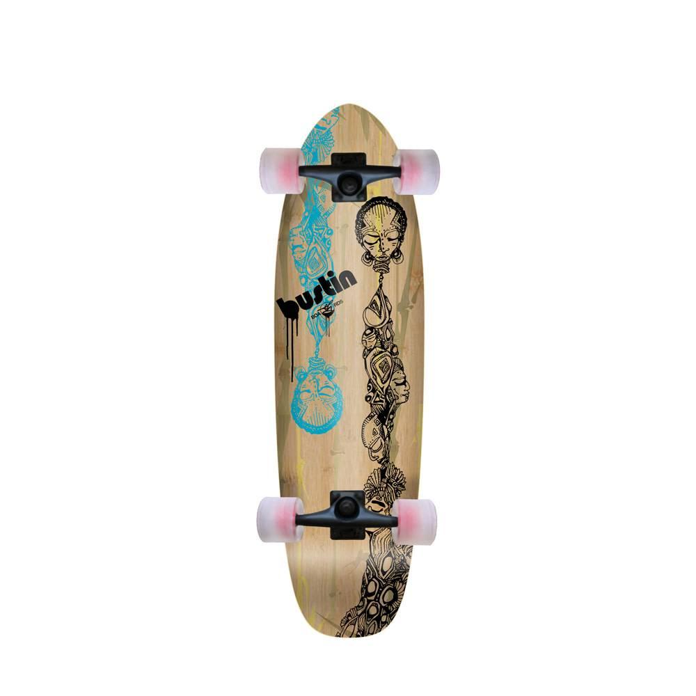 """Bustin Boards Bonsai Mini 29"""" - 'Totemu' Graphic"""