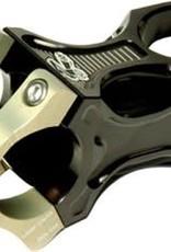 """Renthal Renthal Apex 35 Stem: 35mm Clamp, 1-1/8"""" Steerer, 50mm Length, +/- 6 degree, Black/Gold"""