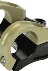 Renthal Renthal Integra 35 Stem: Direct Mount, 35mm Clamp, 45mm Length, 0mm Rise, Black/Gold