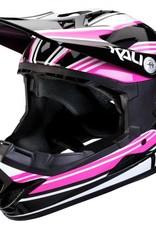 Kali Protectives Zoka Helmet Slash Pink/Black Youth, L