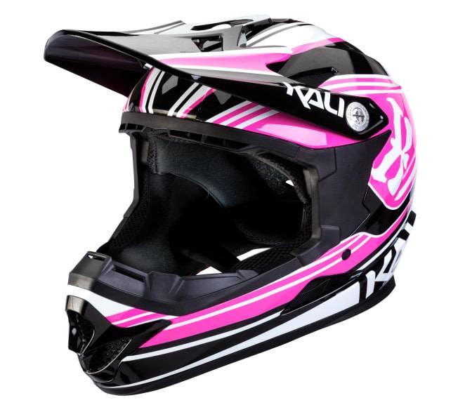 Kali Protectives Zoka Helmet Slash Pink/Black Youth, M