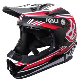 Kali Protectives Zoka Helmet Slash Matte Red/Black Youth, M