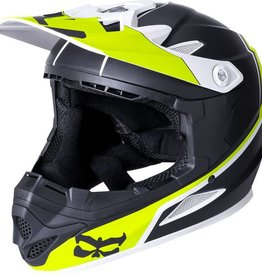 Kali Protectives Zoka Helmet Dual Solid Matte Black/Lime Youth M