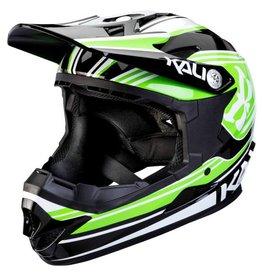Kali Protectives Zoka Helmet Slash Green/Black Youth, L