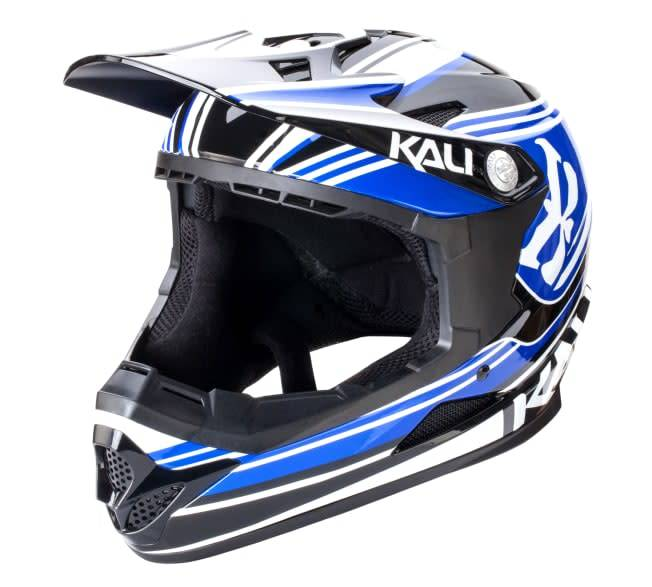 Kali Protectives Zoka Helmet Slash Blue/Black Youth, L