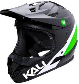 Kali Protectives Zoka Helmet Pinner Gloss Black/Lime/White S