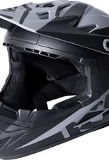 Kali Protectives Zoka Helmet Dual Solid Matte Black/Lime L
