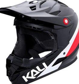 Kali Protectives Zoka Helmet Pinner Gloss Black/Red/White XL