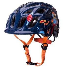 Kali Protectives Chakra Child Helmet Galaxy Blue/Orange