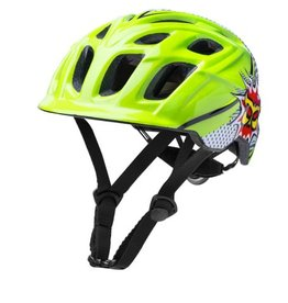 Kali Protectives Chakra Child Helmet Pow Green/Black