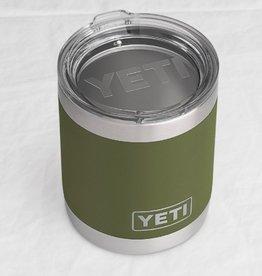 Yeti Coolers Rambler 10oz Lowball Olive Green