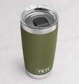 Yeti Coolers RAMBLER 20 OZ W/MS LID OLIVE GREEN