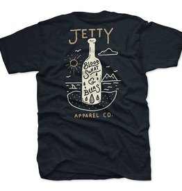 Jetty Sweat and Beers Tee - Navy M