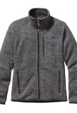 Patagonia M's Better Sweater Jkt Nickel w/Forge Grey L