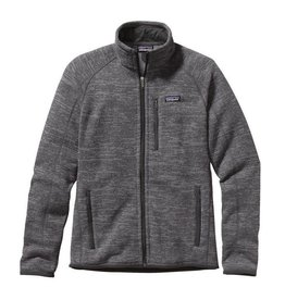 Patagonia M's Better Sweater Jkt Nickel w/Forge Grey M
