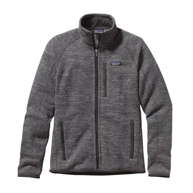 Patagonia M's Better Sweater Jkt Nickel w/Forge Grey XL