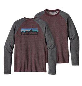 Patagonia M's P-6 Logo Lightweight Crew Sweatshirt Dark Ruby L