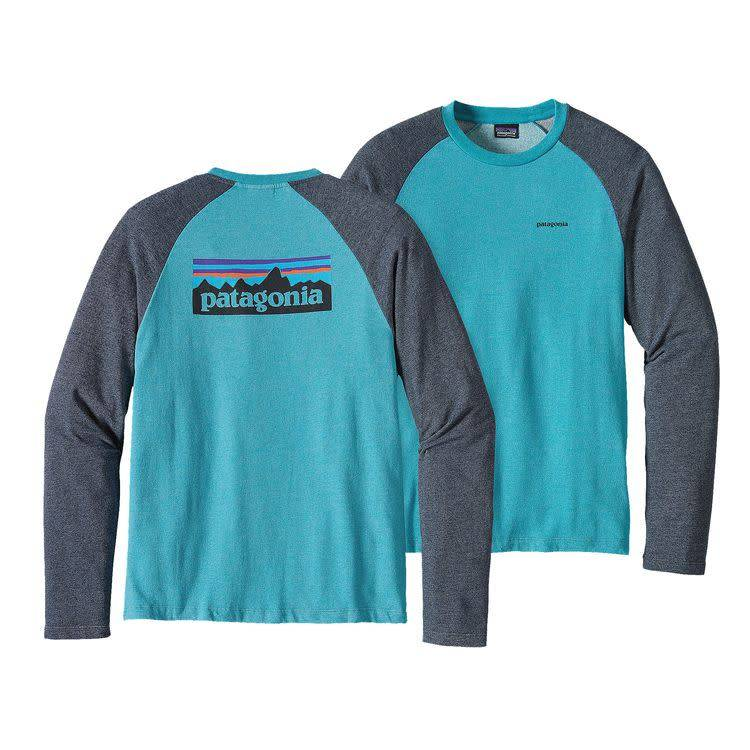 Patagonia M's P-6 Logo Lightweight Crew Sweatshirt Filter Blue XXL