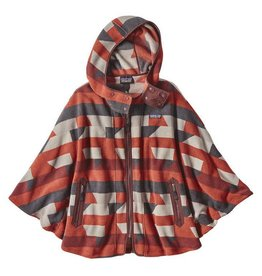 Patagonia Patagonia Women's Lightweight Synchilla® Fleece Poncho Dark Ruby M