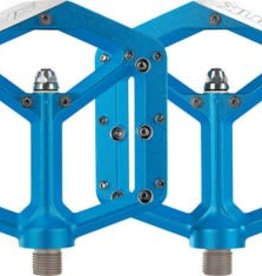 Spank Spike Flat DH Pedal, Blue