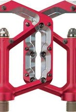 Spank Oozy Trail Flat Pedals, Red