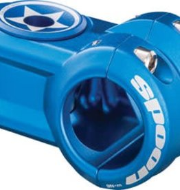 Spank Spoon Stem 50mm, 31.8, Matte Blue