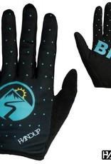 Handup GO BIG - Looney Dots - Black/Teal- Med