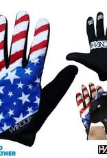 Handup 'MERICA - USA - Red/White/Blue Gloves - Med
