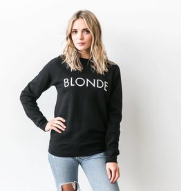 Brunette Blonde Crew - Black