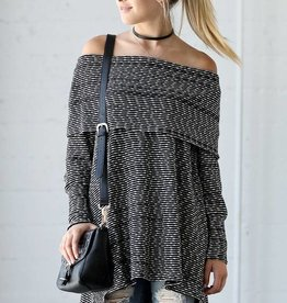 LOSA Off Shoulder Tunic