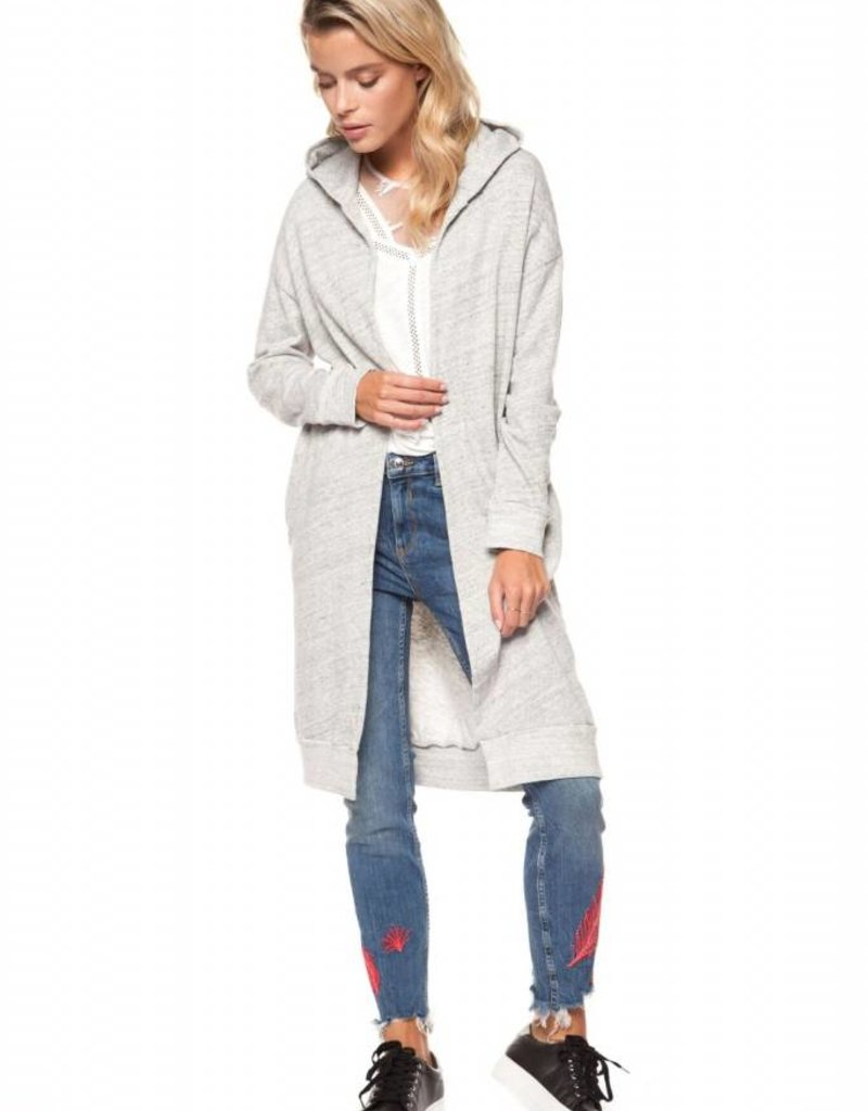 Dex Hooded Casual Cardigan