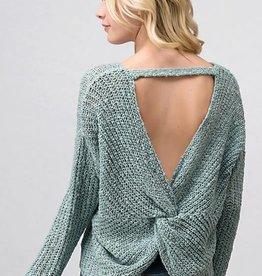 LOSA Twist back knit