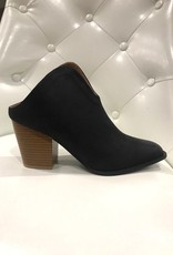 LOSA Open Back Booties