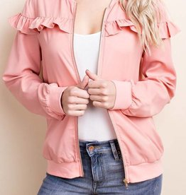 LOSA Bomber with Ruffle