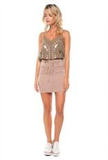 Dex Lace Up Skirt