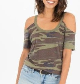 Camo Off Shoulder