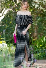 LOSA Off Shoulder Maxi