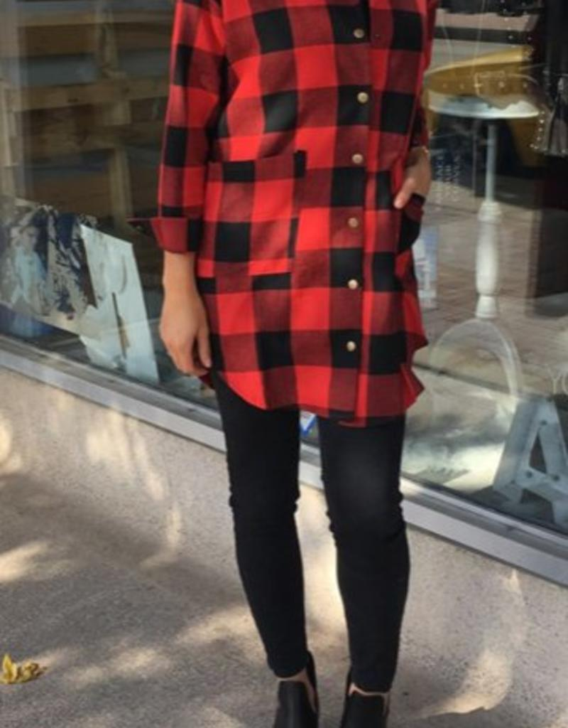 LOSA Flannel Snap Sides
