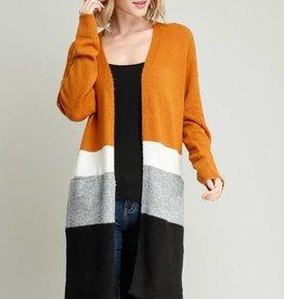 LOSA Colour Block Cardigan