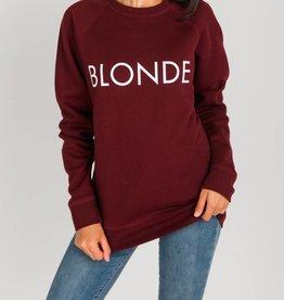 Brunette Blonde Crew