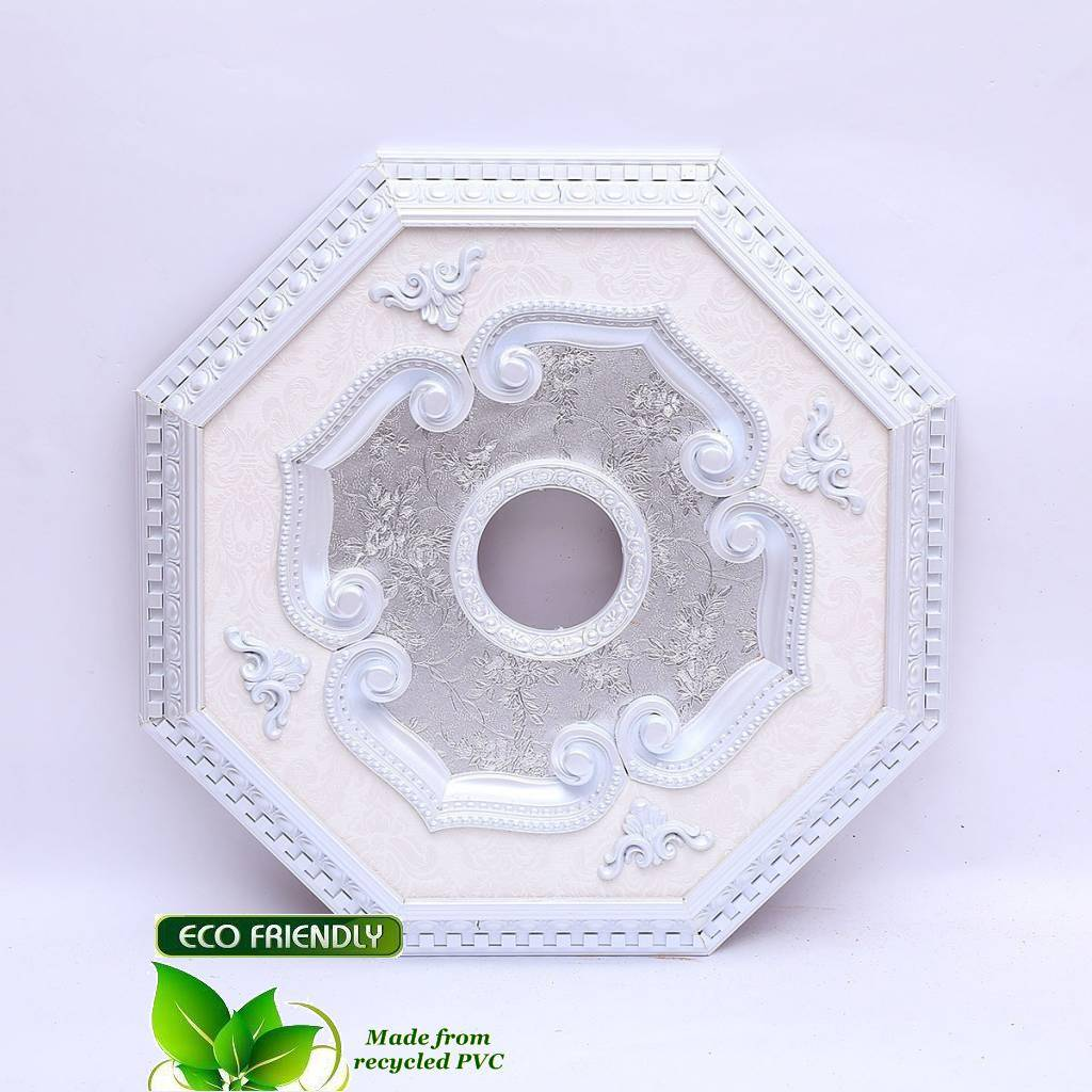 B S Lighting Oct1z089 24 Inch Ceiling Medallion Recycled