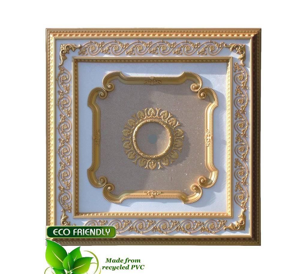 B Amp S Lighting Square2 S 101 32 Inch Ceiling Medallion