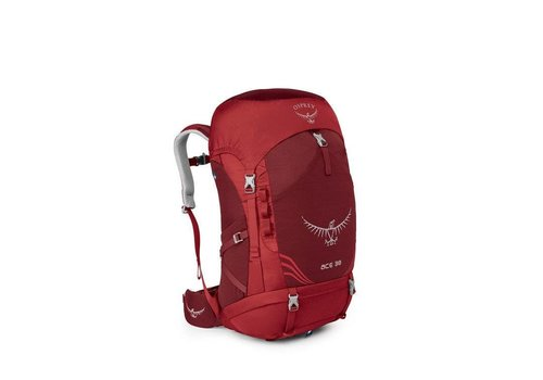 OSPREY Osprey - Ace Kids Adjustable Pack Paprika Red 38 Liter